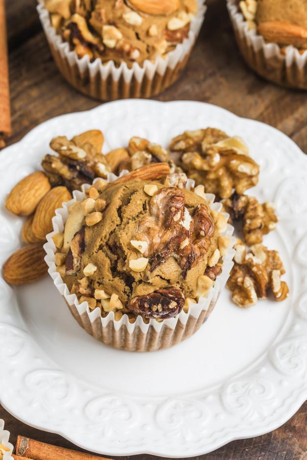 græskar muffins