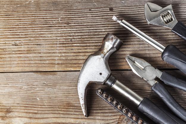 Værktøj fra byggemarked