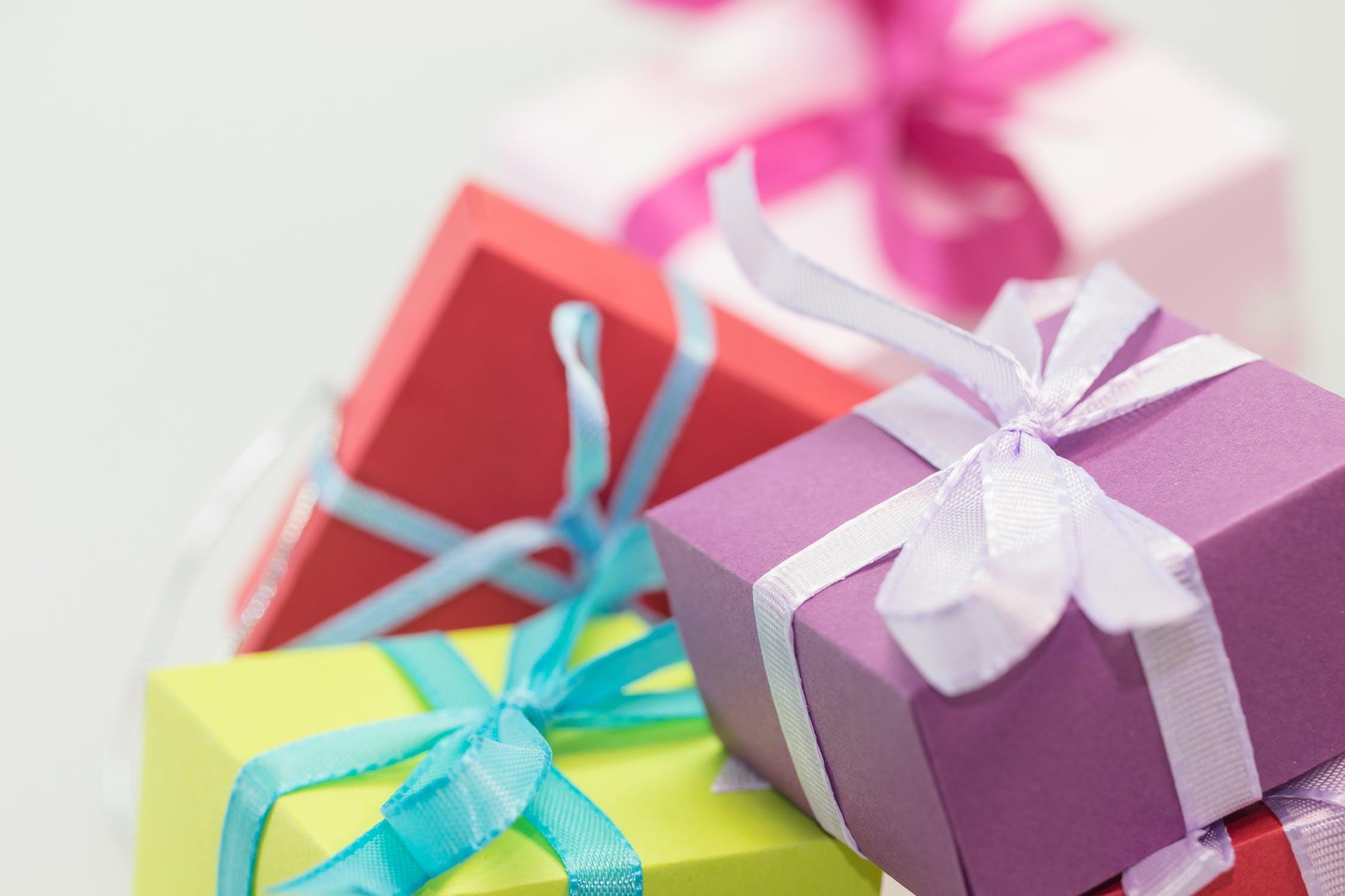 Giv flotte gaver med gaveæsker