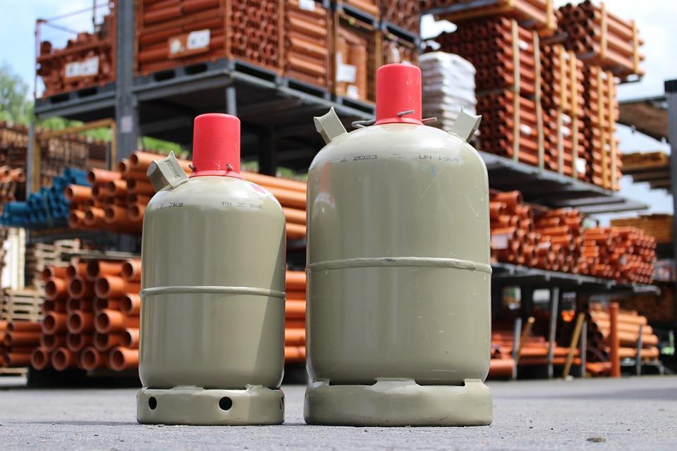 Gas på flaske som energiforsyning